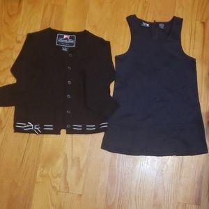 🔥French Toast uniform sweater 5yrs  & dress 4 yrs